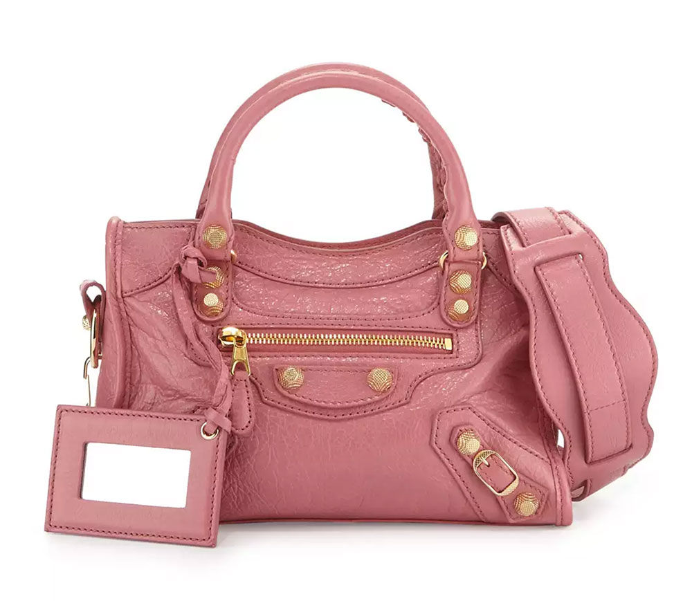 4ce5c4e52d Balenciaga-Mini-City-Bag-Pink - PurseBlog
