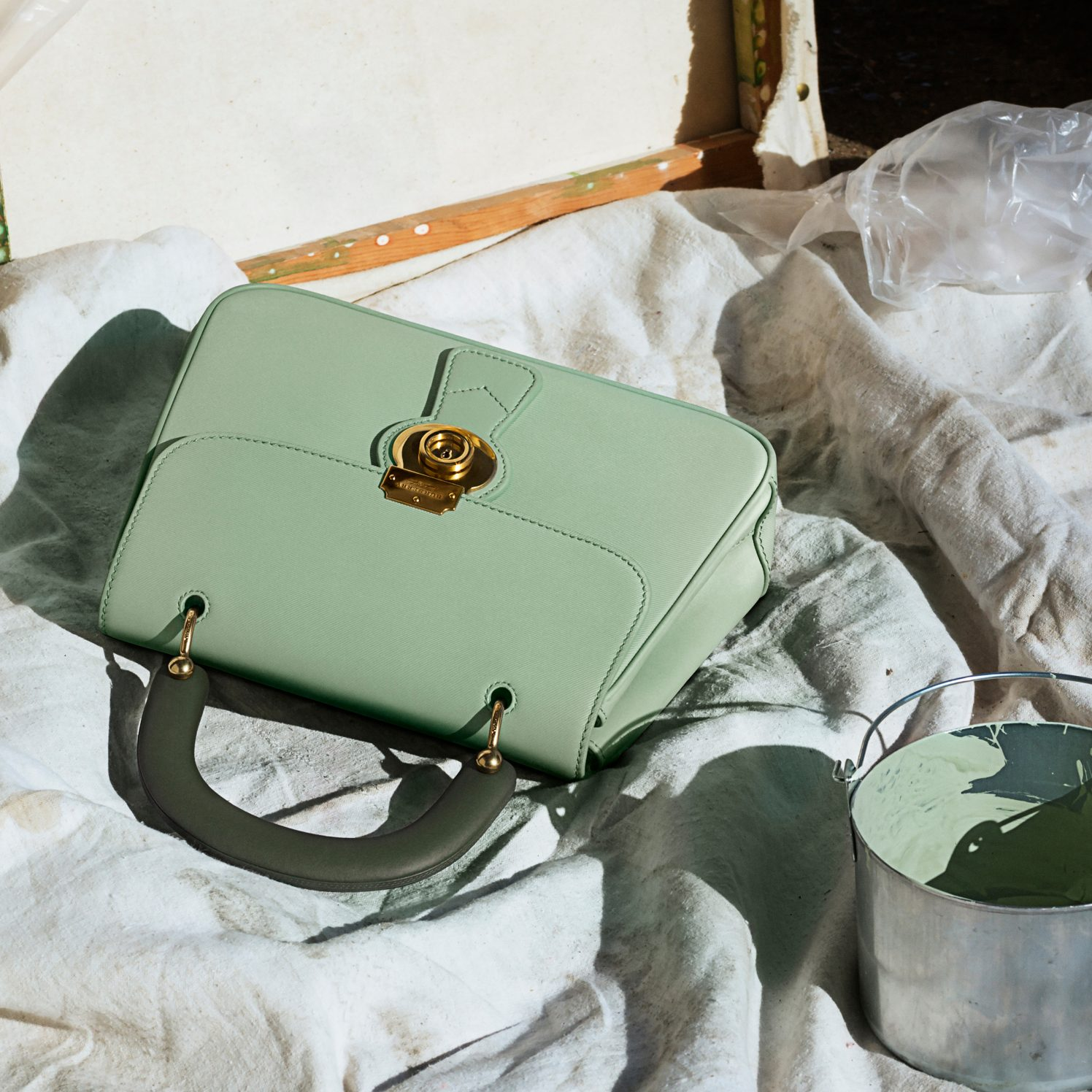 Burberry DK88 Green