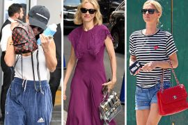 Celebs Bask in the Sun with Bags from Chanel, Givenchy, & Louis Vuitton