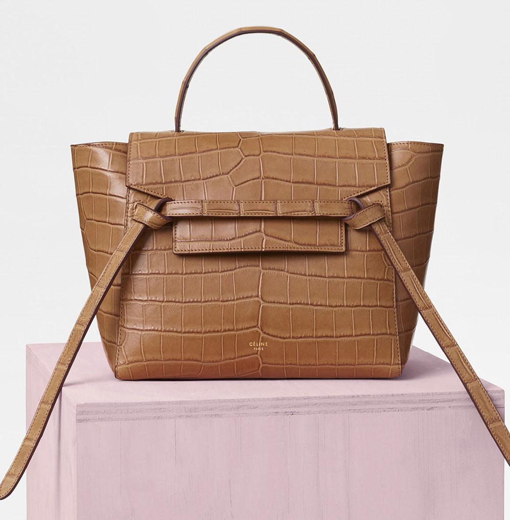 77259f8c1bc5 Céline Crocodile Micro Belt Bag Price Upon Request