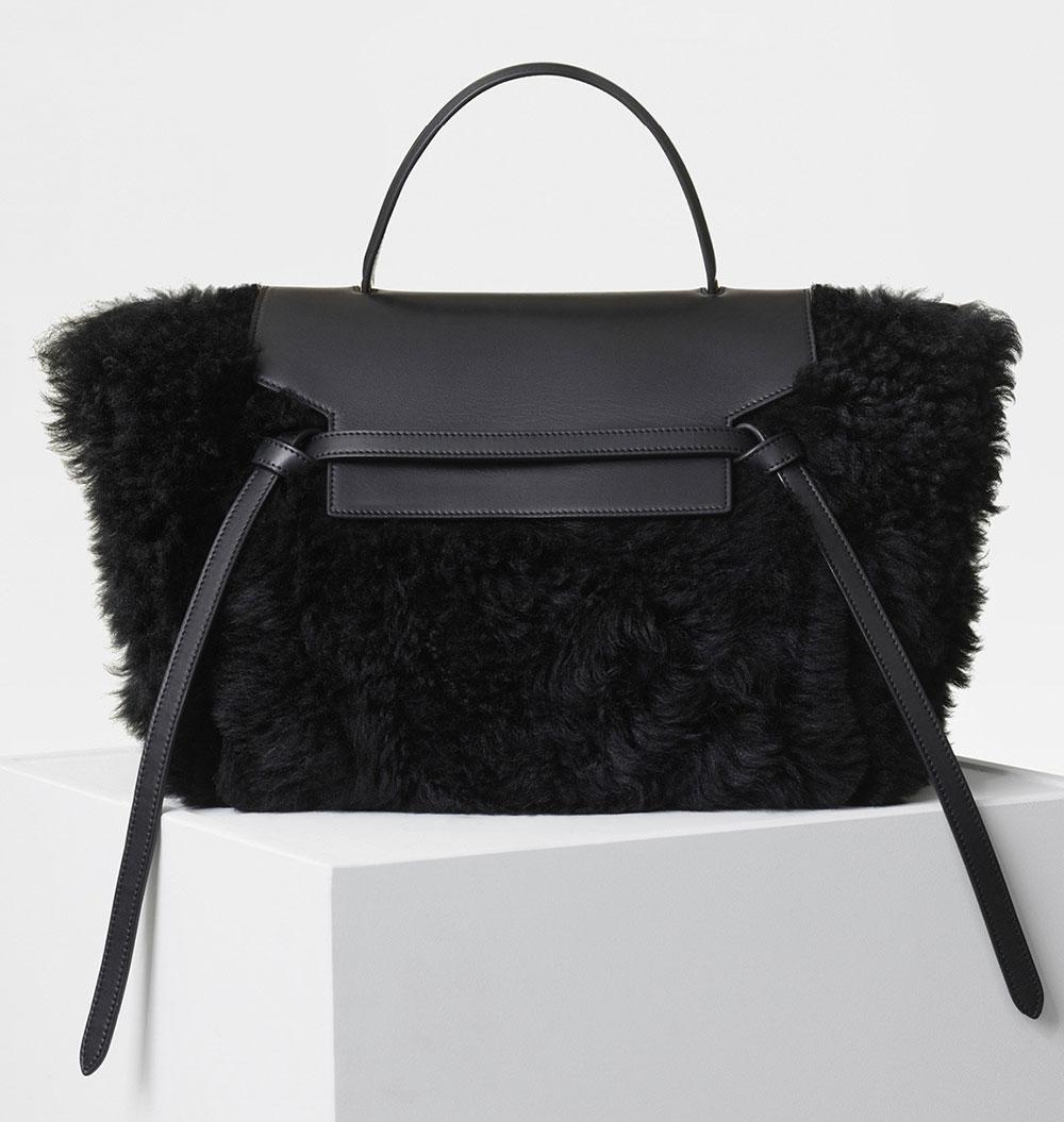 ec7dbc39a9 Celine-Mini-Belt-Bag-Black-Shearling-3600 - PurseBlog