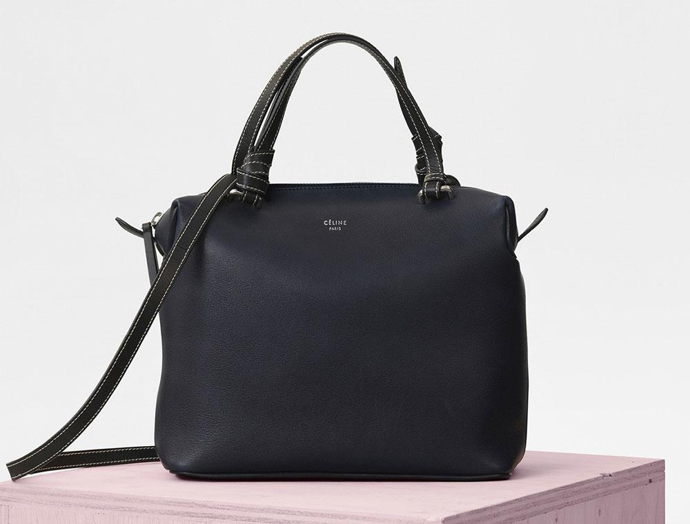 introducing the c u00e9line soft cube bag