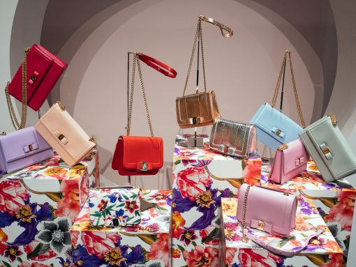 Ferragamo's Pre-Spring 2018 Bags Are a Mix of Fun Florals and Colorful Combos