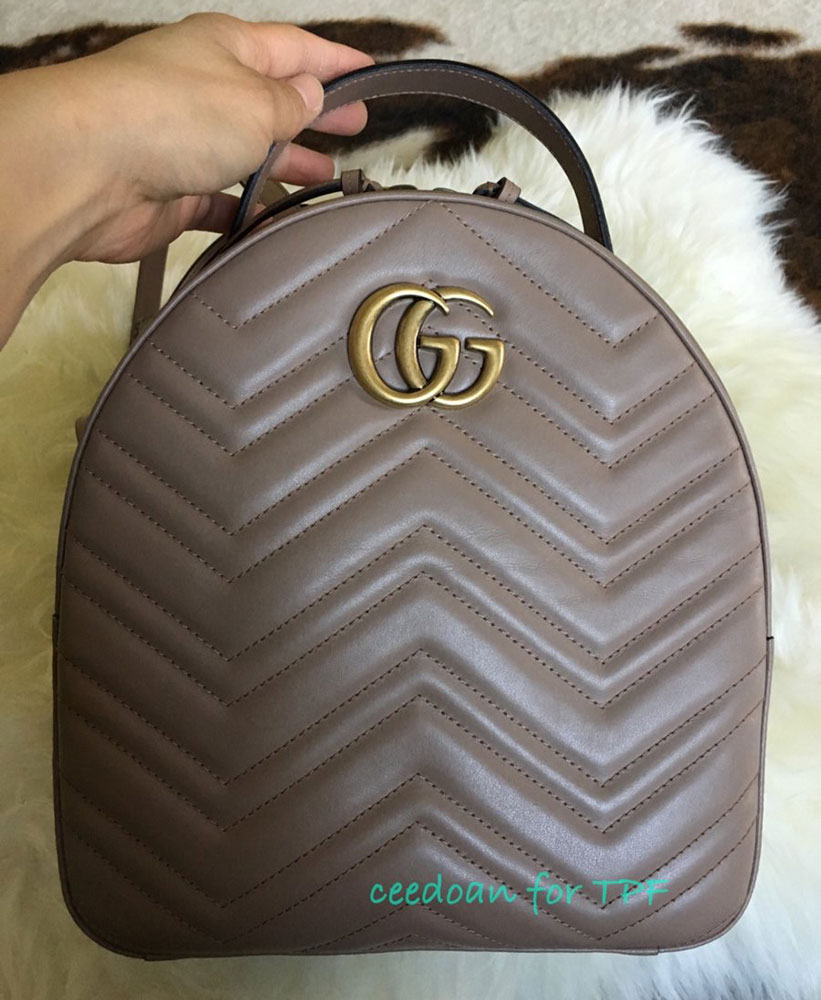 Gucci,Marmont,Backpack , PurseBlog