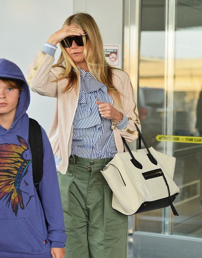 4612a2221d Just Can t Get Enough  Gwyneth Paltrow and Her Céline Luggage Totes ...