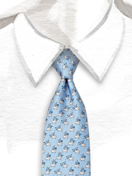 Hermes Saute-Mouton Tie