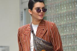 Lately, Kendall Jenner's Really Super Into…Vintage Belt Bags?