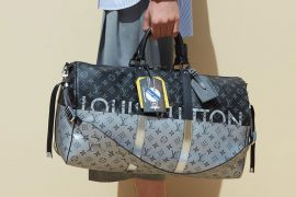 Louis Vuitton Introduces New Monogram Split at Men's Spring 2018 Runway Show