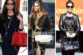 Maria Shriver's Bag Collection is All Business, Including Lots of Hermès Birkins