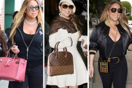 The Many Bags of Mariah Carey