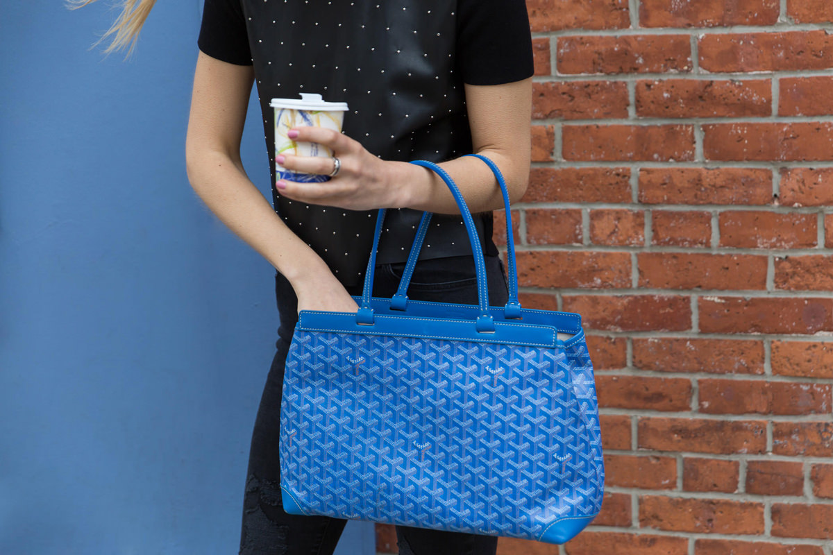 Loving Lately The Goyard Bellechasse Pm Tote Purseblog