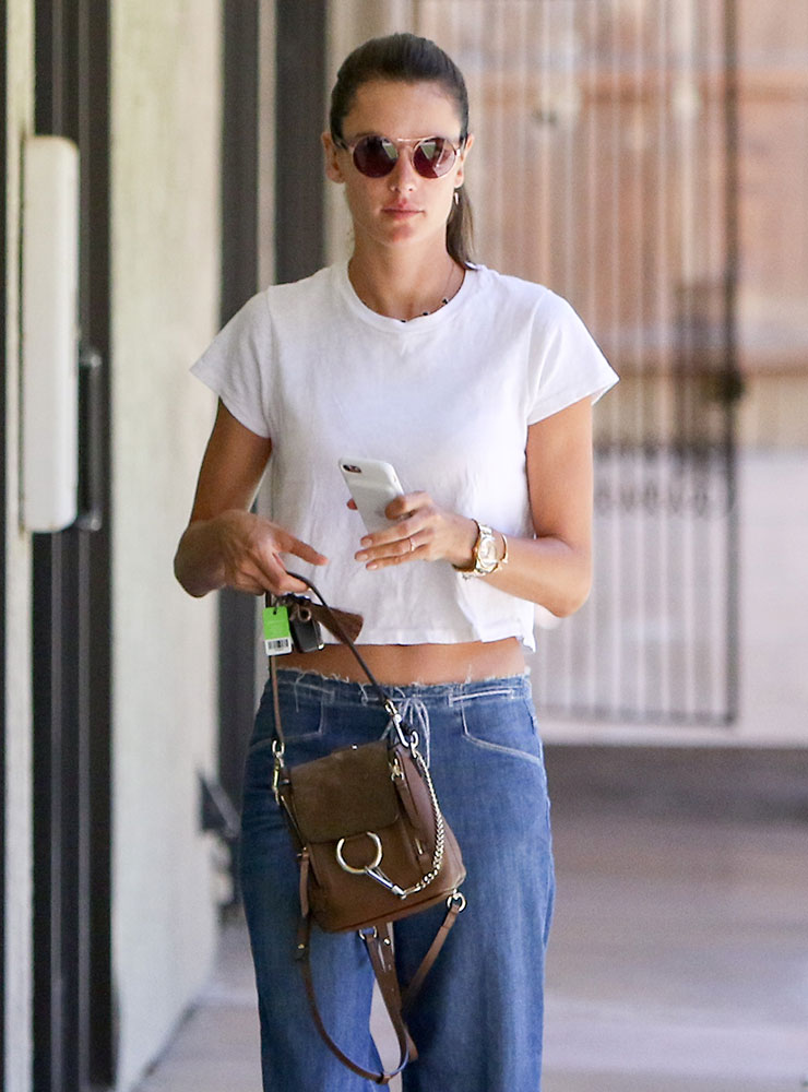 Celebs Mostly Eschew Color And Stick To Classic Black Bags