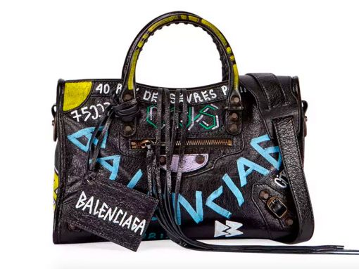 Love It or Leave It: Your Balenciaga City Bag Can Now Come Pre-Graffiti'd