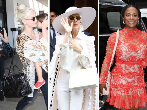 Celebs Make Their Way in the World with Chanel, Céline and Saint Laurent Bags