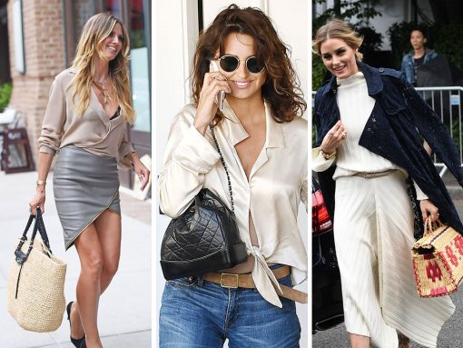 It's Mid-July and Celebs are Loving Designer Straw Totes and Mini Bags