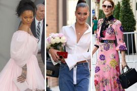 Celebs Shop, Sup and Schmooze with Bags from Fendi, Chanel, & The Row