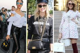 The Many Bags of Paris Haute Couture Week Fall 2017's Celebrity Attendees