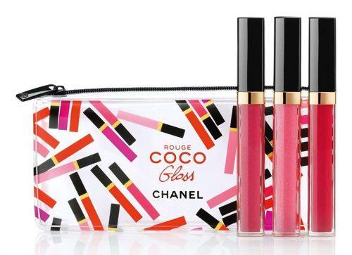 Chanel Rouge Coco Gloss Trio