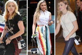 Just Can't Get Enough: Chloë Grace Moretz Loves Her Chanel Bicolor Flap Bag