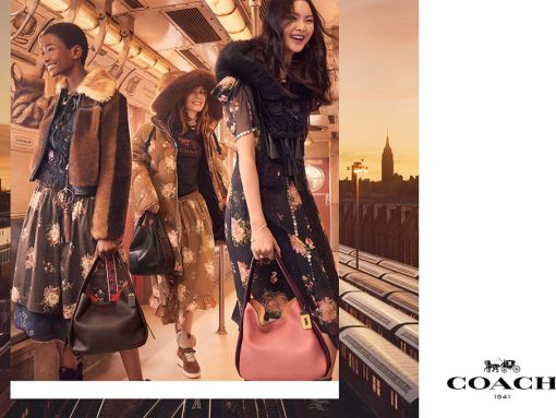 Coach Debuts Fall 2017 Ad Campaign Featuring the Brand New Bandit Bag