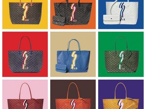 Goyard Launches New Bannière Personalization Style