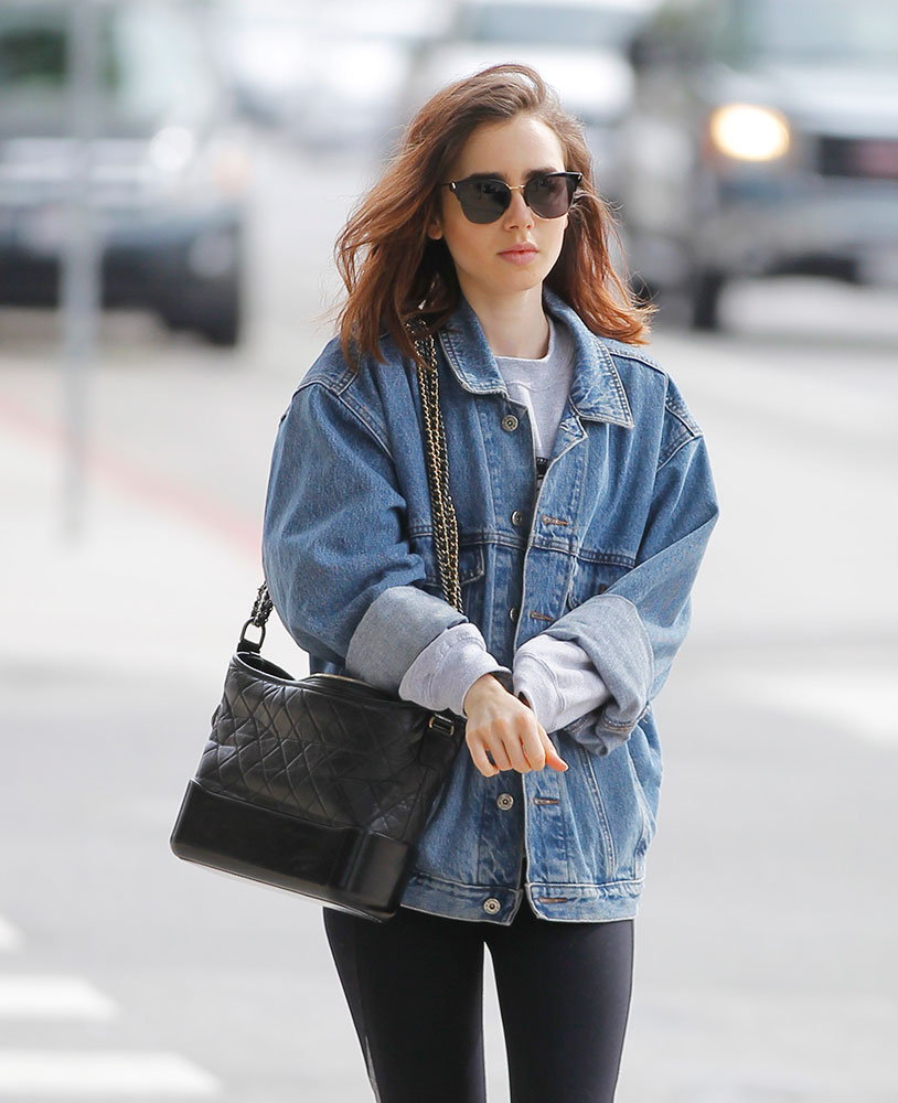 Just Can T Get Enough Lily Collins And Her Chanel