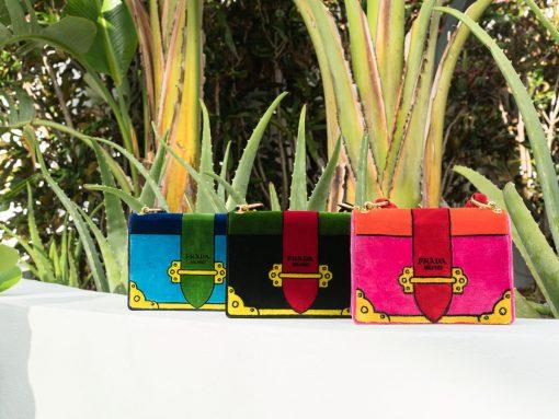 Introducing the Prada Velvet Cahier Bags