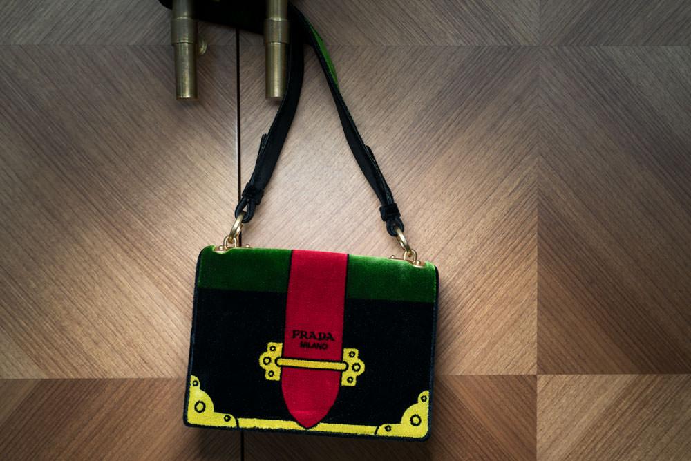 Prada Velvet Bags