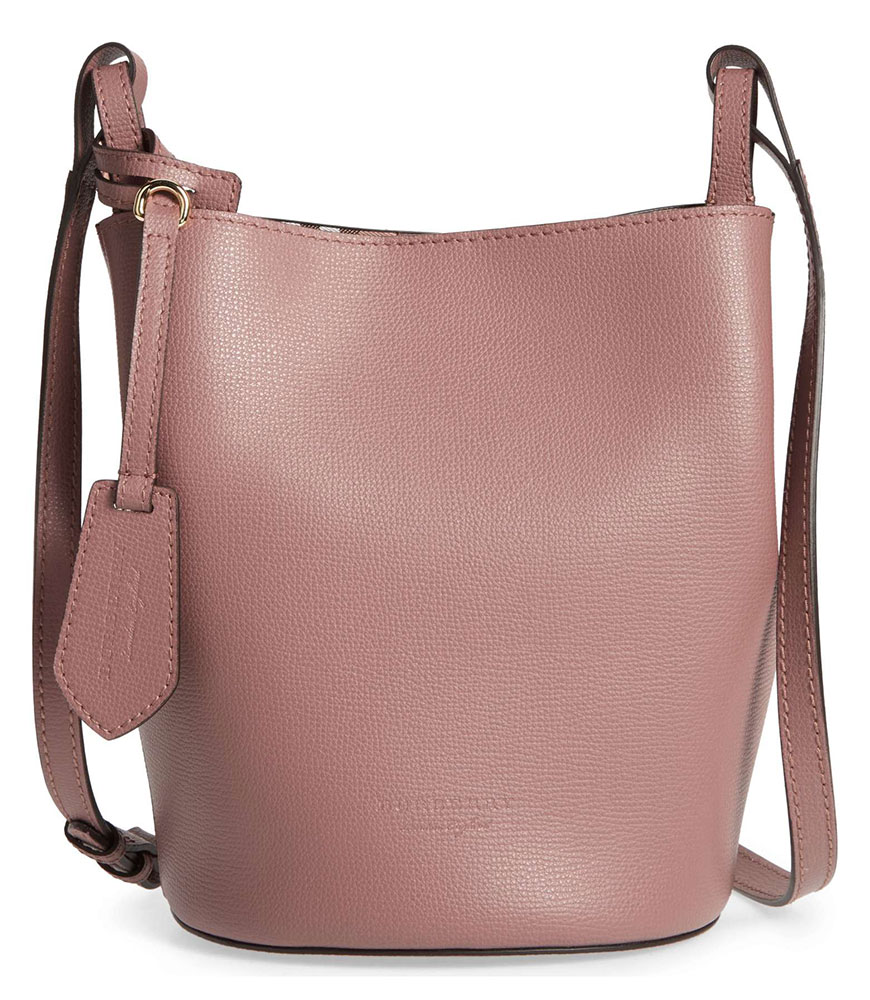Burberry Small Lorne Bucket Bag