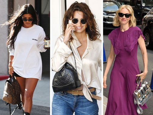 The 13 Best Celebrity Bag Looks of Summer 2017