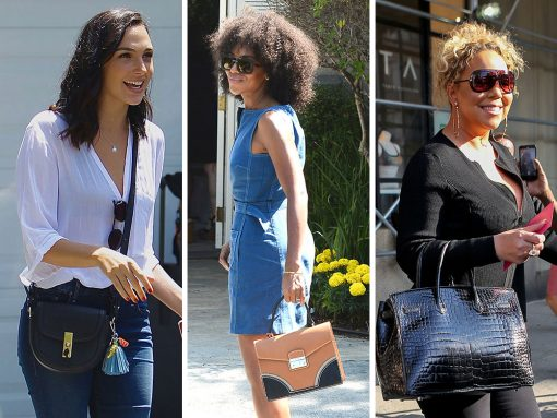 """Annual """"Day of Indulgence"""" Brings Out Indulgent Celeb Bag Picks from Prada, Altuzarra and More"""