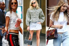 Angels Hover Around NYC with Bags from Tod's, Alexander Wang & Chanel