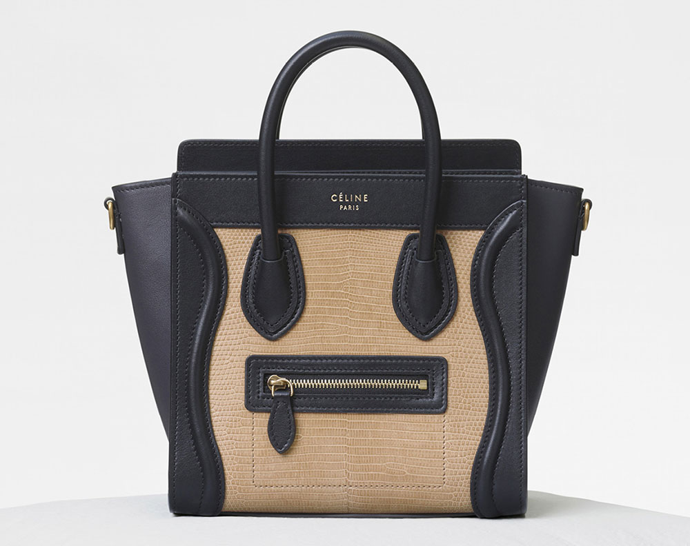 43737be8fa7b CELINE Totes and Such t Lizards Shoulder bags and