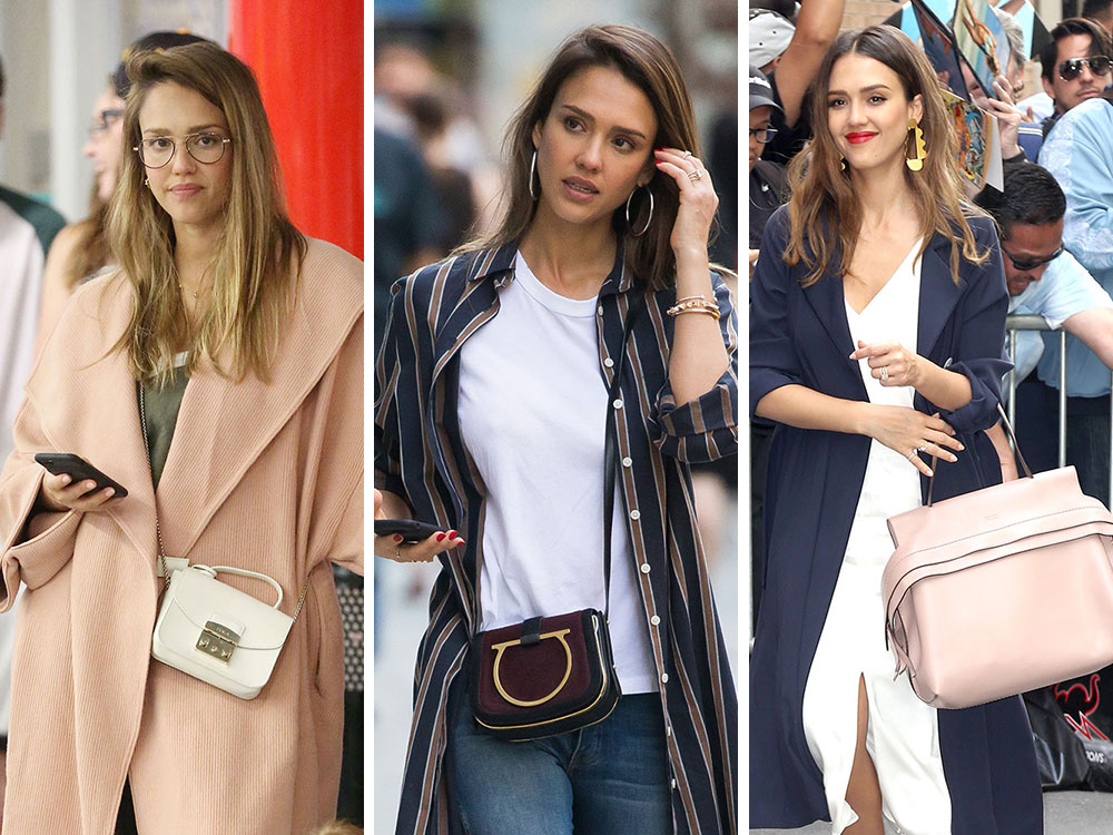 Jessica Alba Has Been Keeping A Lower Profile Lately But Her Bag