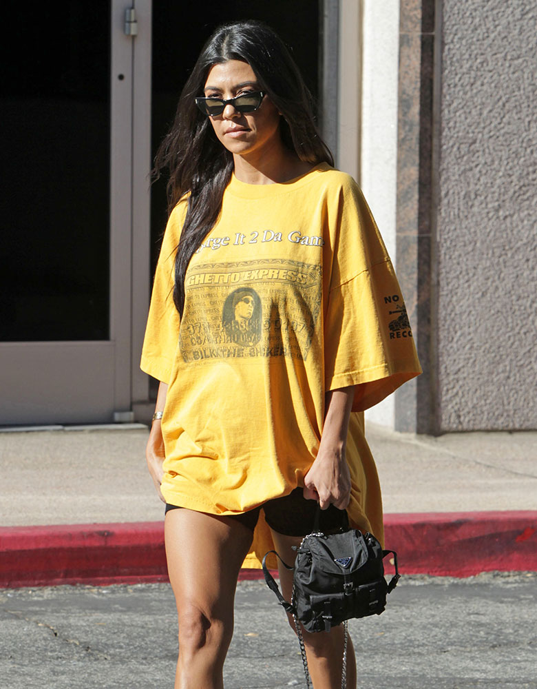 98a647c11ea2 Just Can t Get Enough  Kourtney Kardashian Loves Her Mini Backpacks ...