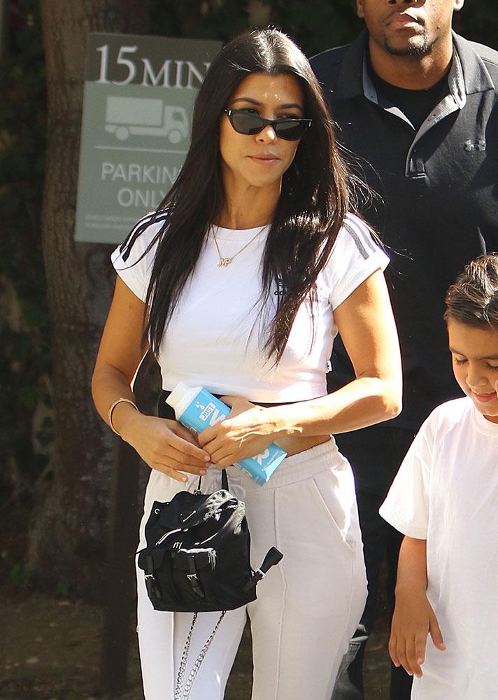 Just Can T Get Enough Kourtney Kardashian Loves Her Mini