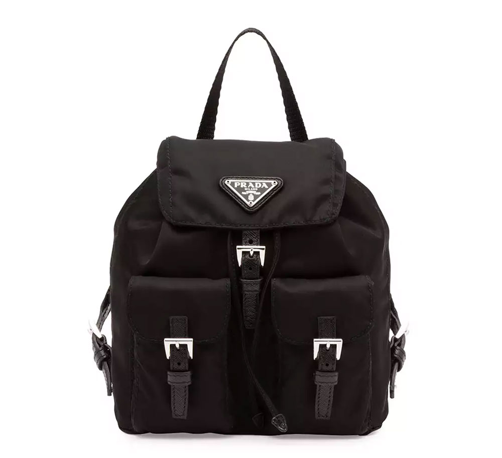 Prada Vela Nylon Mini Crossbody Backpack 950 Via Neiman Marcus