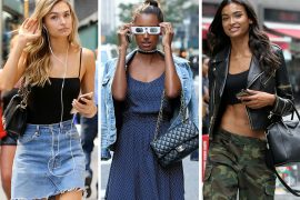 Aspiring Victoria's Secret Angels Flock to NYC with Bags from Gucci, Fendi & Chanel