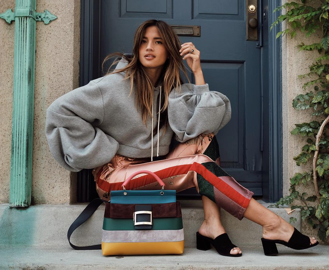 0a54a42ae197 The Best Bags of NYFW Spring 2018, As Seen on Instagram - PurseBlog
