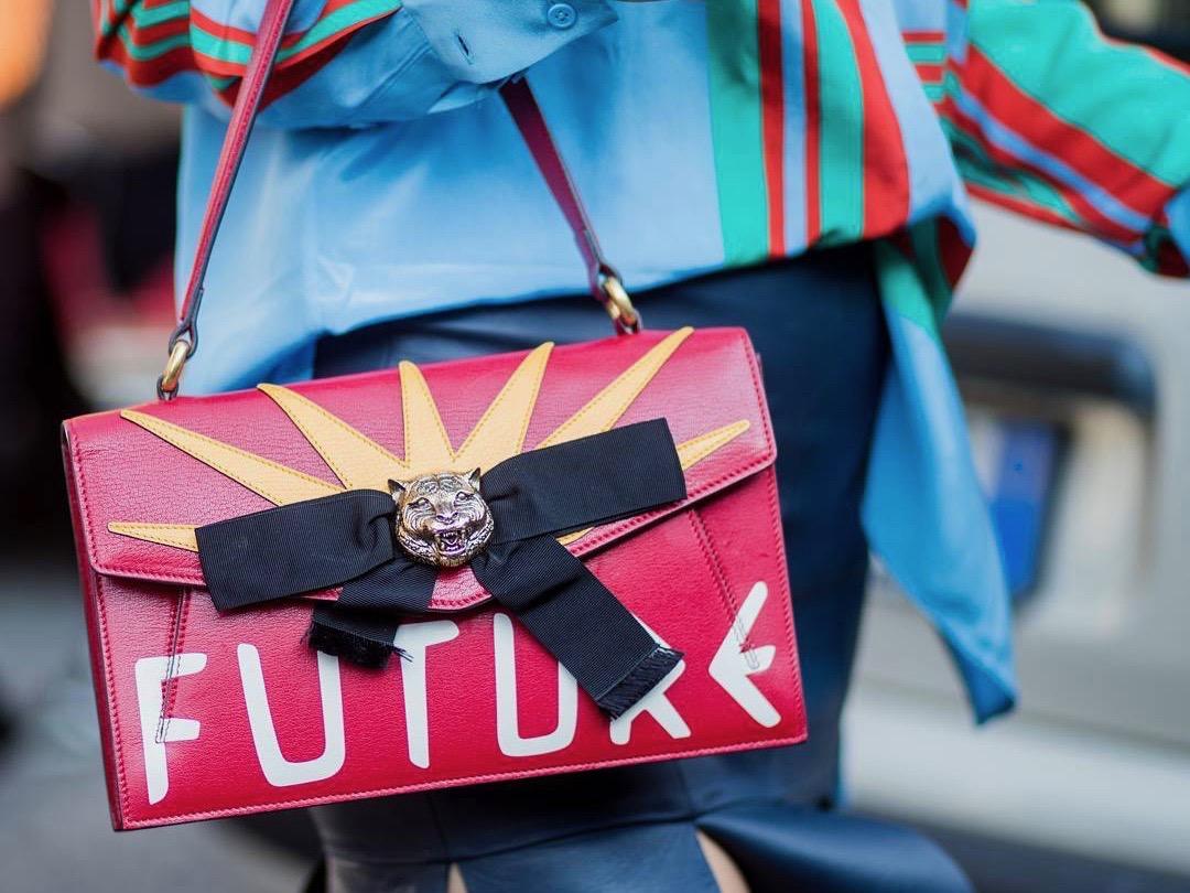 331f7cbf3724 The Best Street Style Bags of Milan Fashion Week Spring 2018