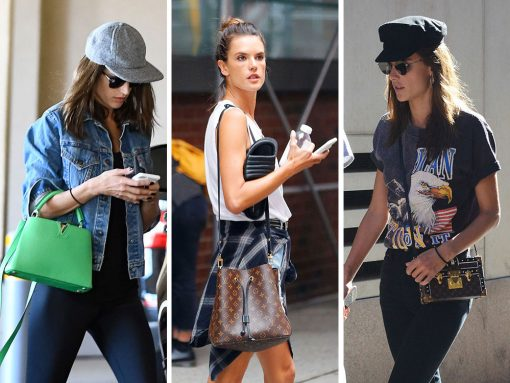Just Can't Get Enough: Alessandra Ambrosio Loves Her Louis Vuitton Bags