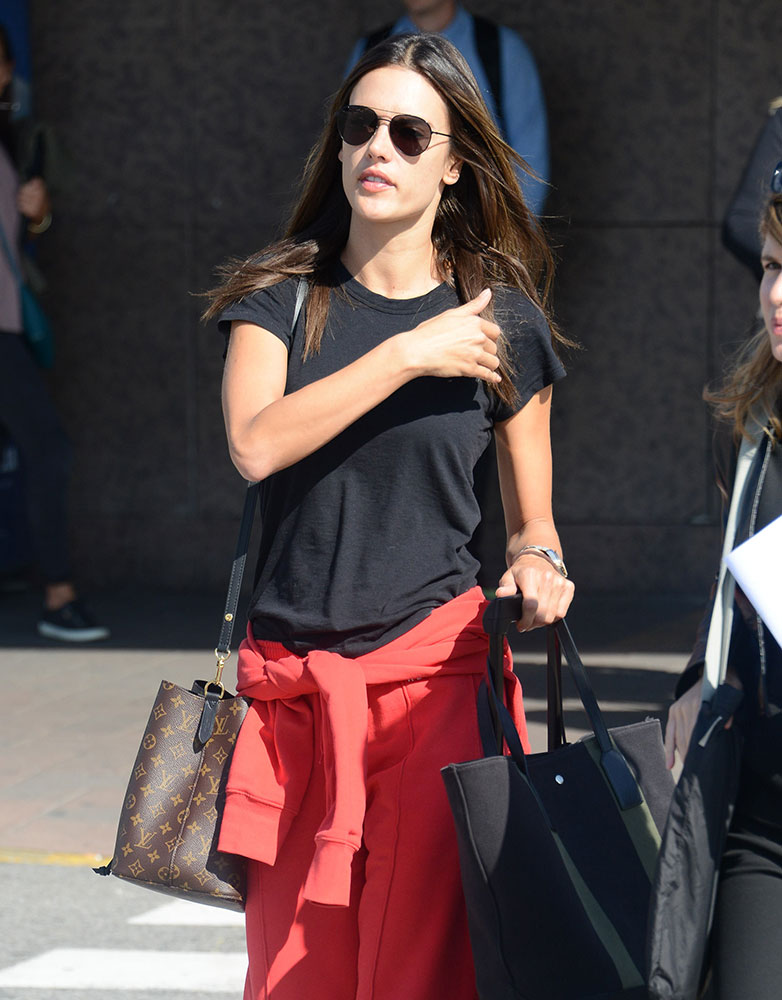 Just Can't Get Enough: Alessandra Ambrosio Loves Her Louis ...