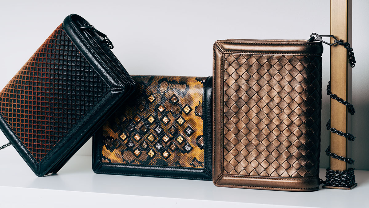 Bottega Veneta Montebello Clutches