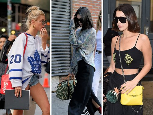 Celebs Gear Up for NYFW and the Venice Film Festival with Bags from Louis Vuitton, Gucci and More