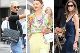 This Week, Supermodels Put Us to Shame with Bags from Louis Vuitton, Fendi and Chanel