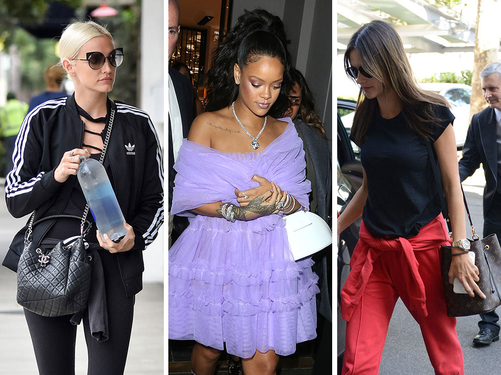 Celebs Stay Up Late with Bags from Valentino, Louis Vuitton and Salvatore  Ferragamo d012c46389