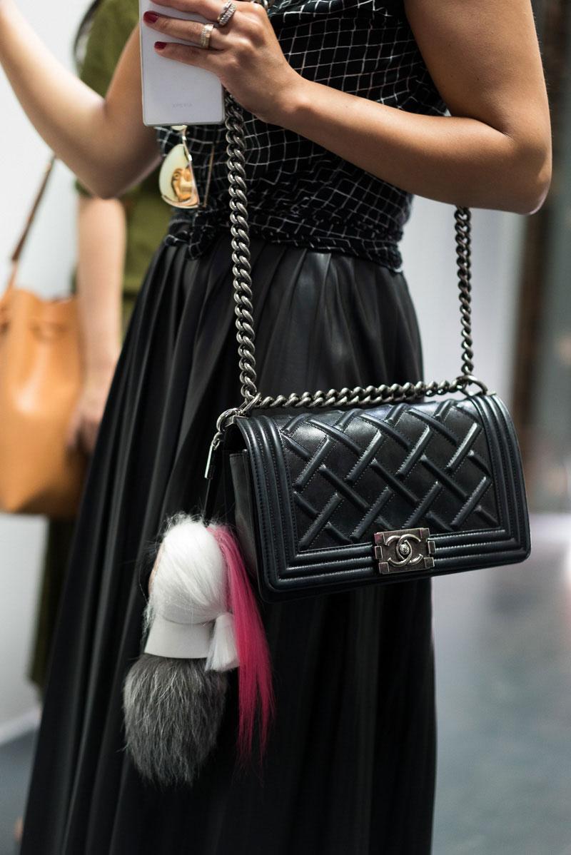 2997a9b705 Our 40 Favorite Street Style Handbag Photos of New York Fashion ...