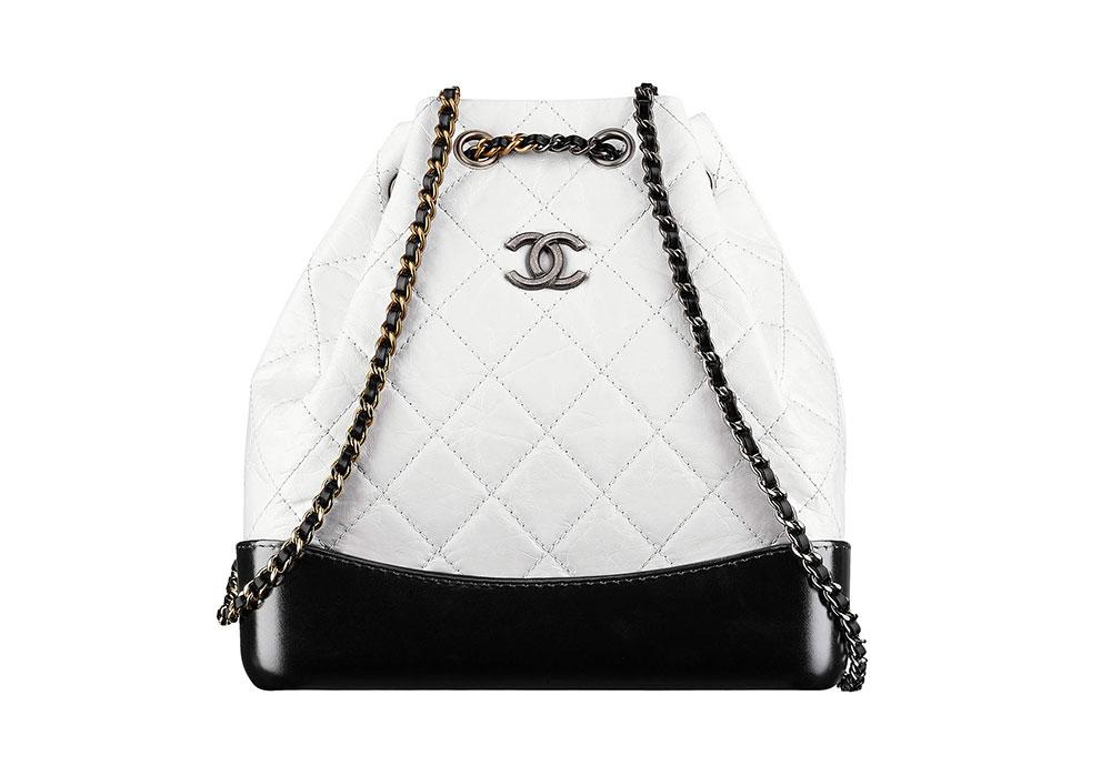 Chanel-Gabrielle-Backpack-White-3000 - PurseBlog 9a7ef9d20314b