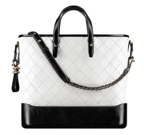 ca3cbec5822d66 Chanel-Gabrielle-Shopping-Bag-White-4100 - PurseBlog