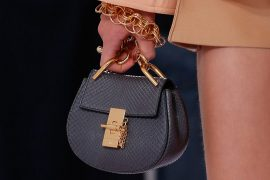 Chloé's New Designer Debuts By Embracing Some Old Favorite Bags on the Runway for Spring 2018